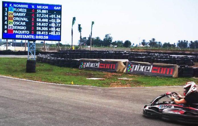 Videomarcadores pistas karting